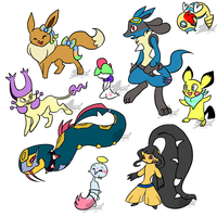 NYP Pokemon Point Adopts {1/9 OPEN} by WingedLeopard