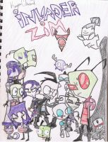 INVADER ZIM THE GREATEST SHOW by kyohattress34654