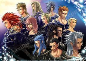 KH2 - Organization XIII by blackwing-dias
