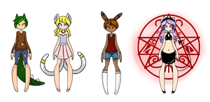 Mixed Adopts -Closed- by Miss-Adoptables