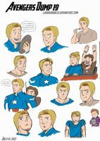 Avengers Dump 19 by LauraDoodles