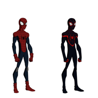 Miles Morales, Spider-Man. by Bobkitty23