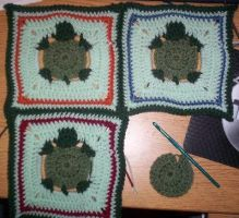 Turtle Granny Squares by BunnieBard
