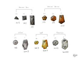 Dwarven Coins by Artigas