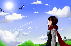 RWBY :: Thank You and Goodbye by ZirSeii