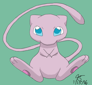 Mew by ThatCharizardGuy