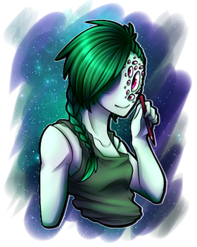 My oc, just uploading it for the profile pic by Jadekettu