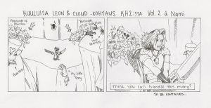 Cloud and Leon scene KH2 pt. 1 by Namipulla