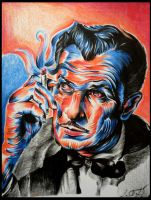 Vincent Price by Lampert