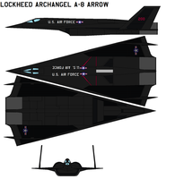 Lockheed Archangel A-8 arrow by bagera3005