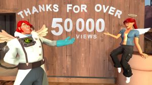 Thanks for over 50000 views by MAGAngel