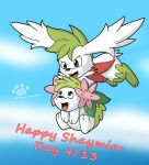 Happy Shaymin Day by Coshi-Dragonite