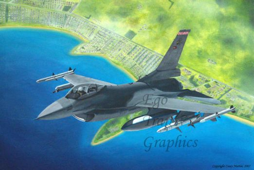 Turkish Block 40 F-16 by Ego-Trap-graphics