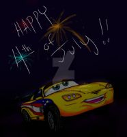 Jeff Gorvette for the 4th by TaiOMega