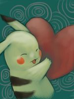 pika hug by love-lullaby
