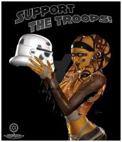 Support the Troops by id10tech