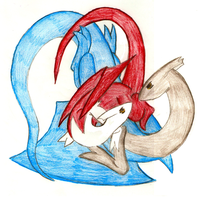 Latias and Latios 2 by radiantsilverfire