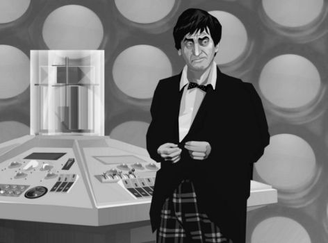 Second Doctor discovers jelly babies by Harnois75