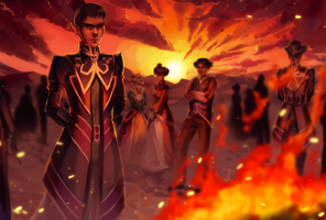 Funeral Pyre by applePAI