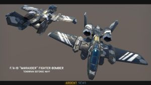F/A-19 'Marauder' Fighter-Bomber by Helge129