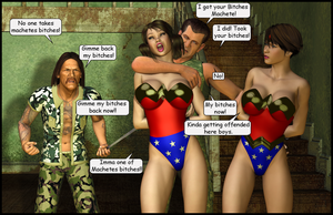 Machetes Ladies by LordSnot