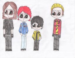 MCR Killjoys by NinjaZombieCat