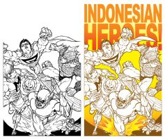 INDONESIAN SUPERHEROES by prie610