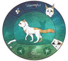 tDE: Snowingtail-Deputy of RiverClan by elixodus