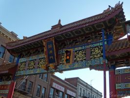 China Town Gates by Loulou13