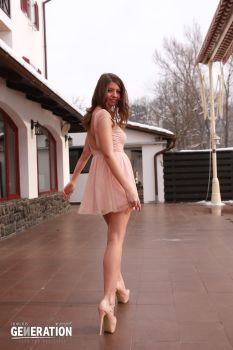 Fashion stock pink by claudiafox