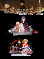 Tag Wall - Sword Art Online by Chelimka