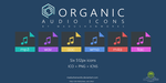 Organic Audio Icons by MadushanWorks