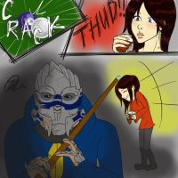 Why Turians Don't Play Pool by greenmamba5