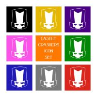 Castle Crashers Icon Set by ThePandaPredator