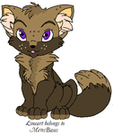 Chibi Fox Adopt - 20 pts. - OPEN by cassidymom