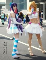 Anarchy Sisters - Panty and Stocking by Loli-Goth