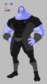 BvE Character Design: Brunox-Bon_Colored by sketchy-umi
