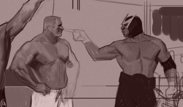 Strongman competition 2 wip ( Portion ) by FUNKYMONKEY1945
