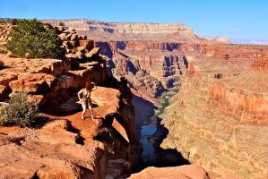 Apocalypsy at the Grand Canyon 3 by luvbight