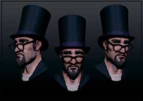 the illusionist zbrush screens by pixelchaot