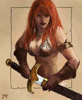 Red Sonja by Manji675