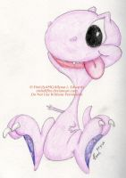 Rover the T-Rex -Tiny Toons- by FireLilyAMG