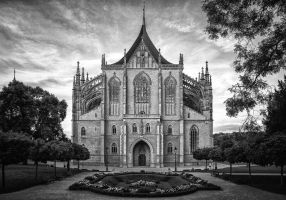 Cathedral of St. Barbara by freemax