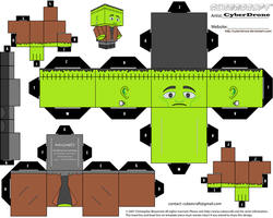 Cubee - Frankenstein by CyberDrone