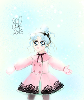 Ameko in the Snow by Sophie-Lou