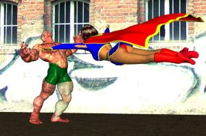 supergirl attacks by cattle6