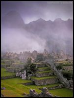 Machu Picchu at dawn 4 by Dominion-Photography