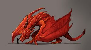 Red Dragon by skyehopper