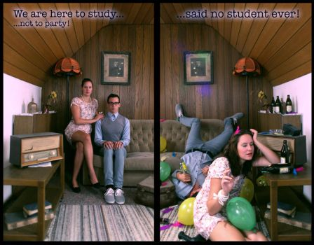 ...said no student ever! by Chelest