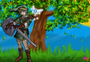 Another Day of Link by Forbidden-Dragon13